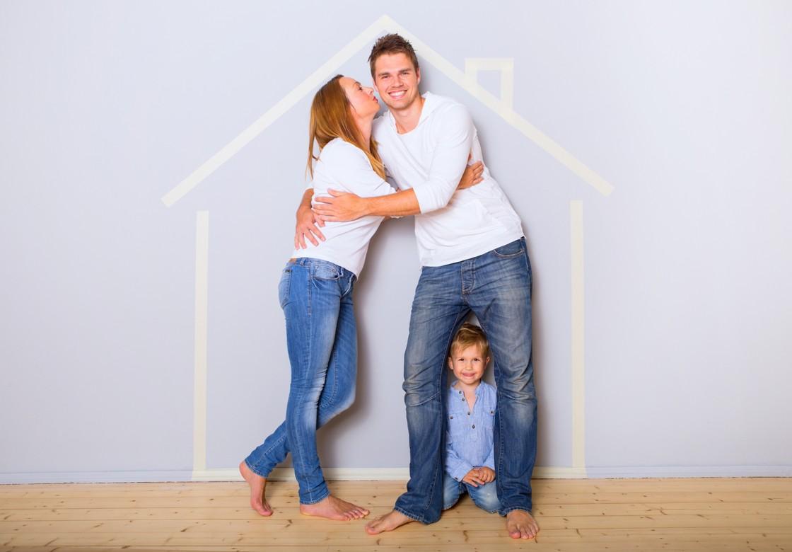 Bild-Wandheizung-Familie